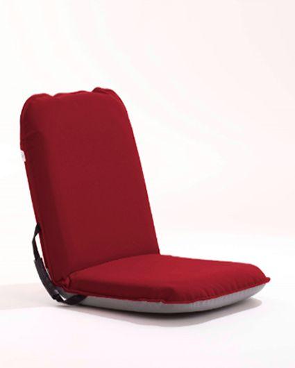 Comfort Seat - Collectie Två röda Comfort Seat är våra bästa vänner hela sommaren. Ombord, på bryggan och på klipporna
