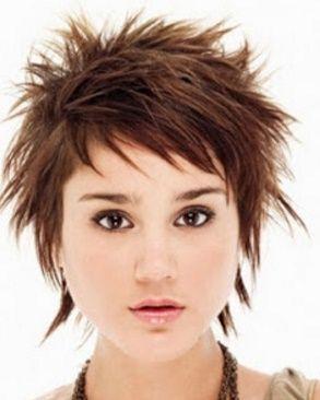 Cute Short Spiky Hairstyles   Moda Cabellos: Cortes de pelo corto Asimétrico entrecortado - 2016