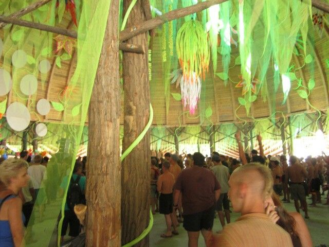 'Ozora festival'  Impression of an overday progressive trance party in the wonderfully decorated dome.