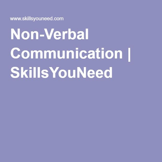 Related Post of Non verbal communication essay