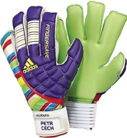 Adidas Allround Soccer Gloves Purple Multicolor