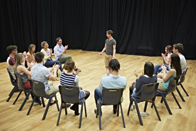If you need more than just a brief blurb on how to how to lead theatre warm-ups and improvisations, check out these resources.
