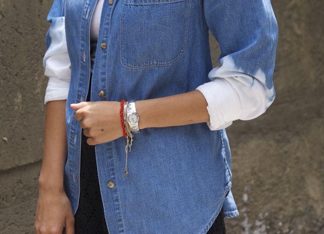 DIY Dries Van Noten Inspired Dip Dye Jacket « a pair & a spare