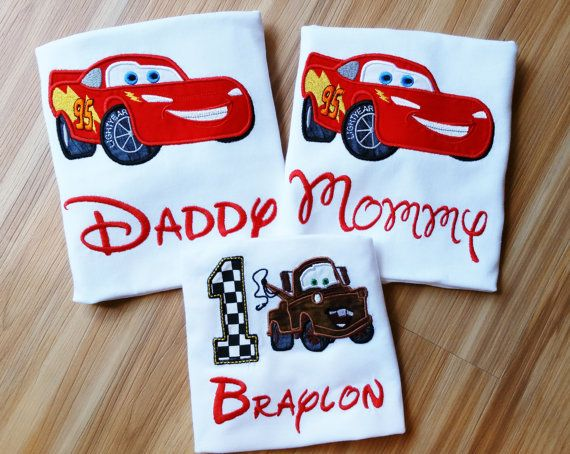 Lightning McQueen Daddy Mommy Sally Tow Mater by GumballsOnline