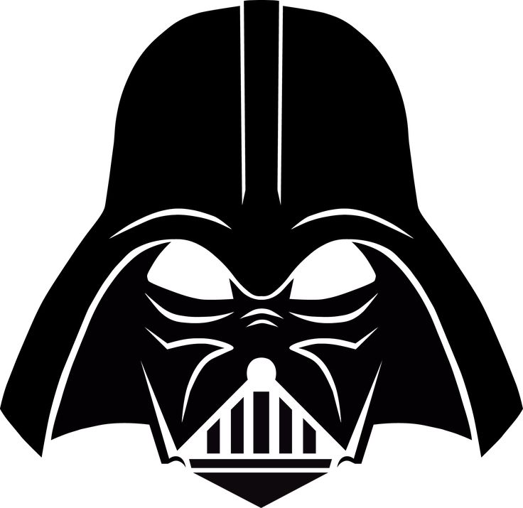 Darth Vader Stencil, free download