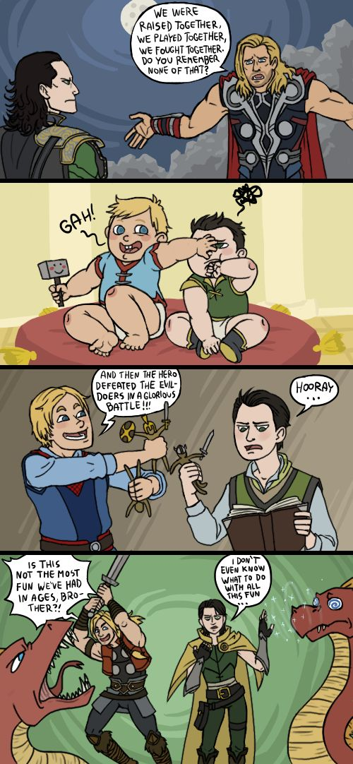 Avengers: Thor and Loki