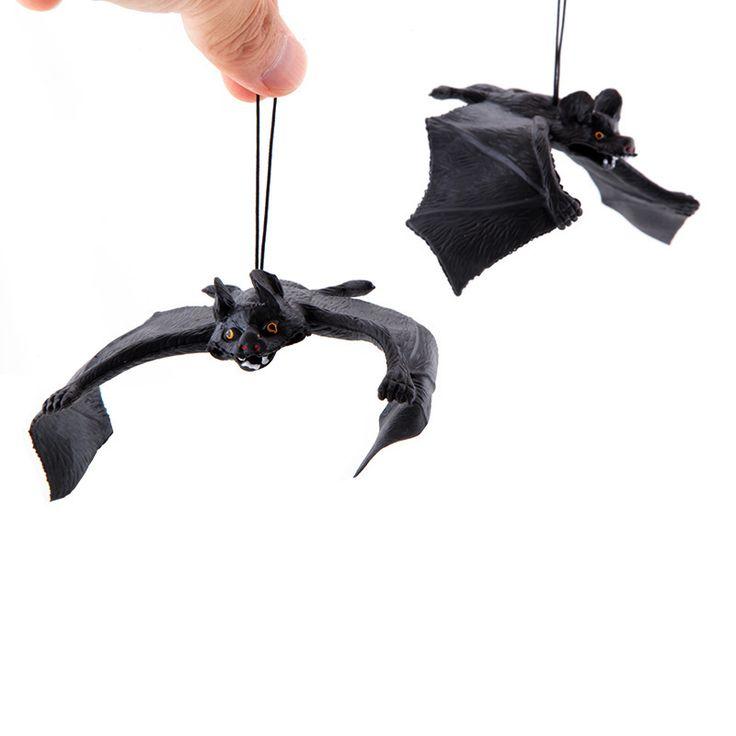 1 개 14 센치메터 농담 개그 장난 메이커 트릭 재미 참신 재미 가제트 Blague 장식 소품 시뮬레이션 동물 박쥐 장난감