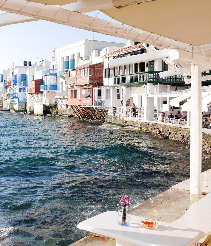 Exploring Mykonos Town