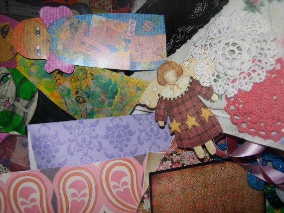 The Mixed Media Art MaGiC Box of Supplies a box full of by eltsamp, $54.00