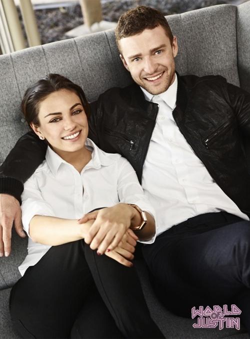 Mila Kunis Photos - Justin Timberlake And Mila Kunis On