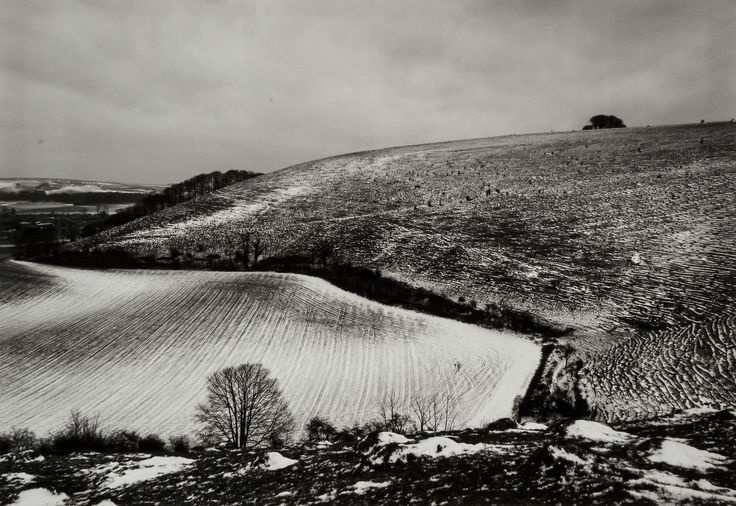 Fay Godwin - Win Green Hill, Wiltshire, 1970s; and two others