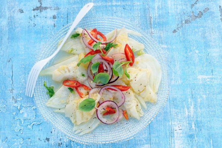 Het geheim achter deze Zuid-Amerikaanse visschotel: de frisse citrusmarinade - Recept - Allerhande