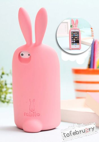 Rabito Silicone Case Stand for iPhone 5/5S