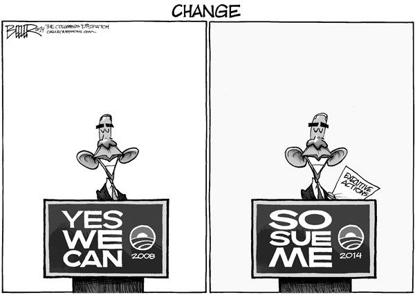 Obama Changes ***  Here are 7 facts you MUST know before disaster strikes - http://patriotproducts.org/go/surviving-after-crisis/  ***  Posted on July 8, 2014, 1:00 pm from http://www.cagle.com/2014/07/obama-changes/
