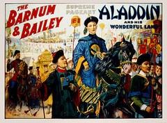 1917 Strobridge Barnum & Bailey Circus Original Vintage PosterVintage Circus Posters, Baileys Circus, 1917 Strobridg, Originals Vintage, Circus Originals, 1917 Aladdin, Vintage Circusvintag, Strobridg Barnum, Posters 1917