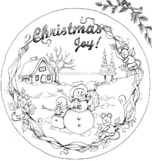 Country Snowmen153.jpg (620×657)  Christmas  Coloring Pages