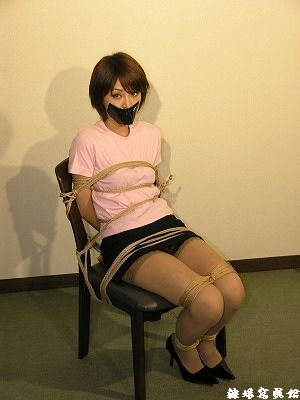 Beautiful Japanese Teen Gagged 42