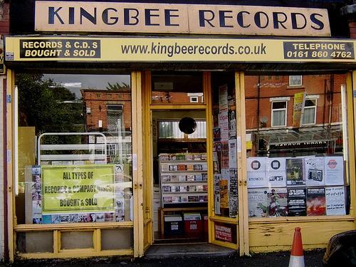 Kingbee Records Wilbraham Road Chorlton 2010