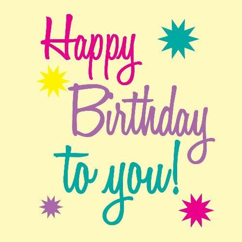 Happy birthday to you #Happybirthday