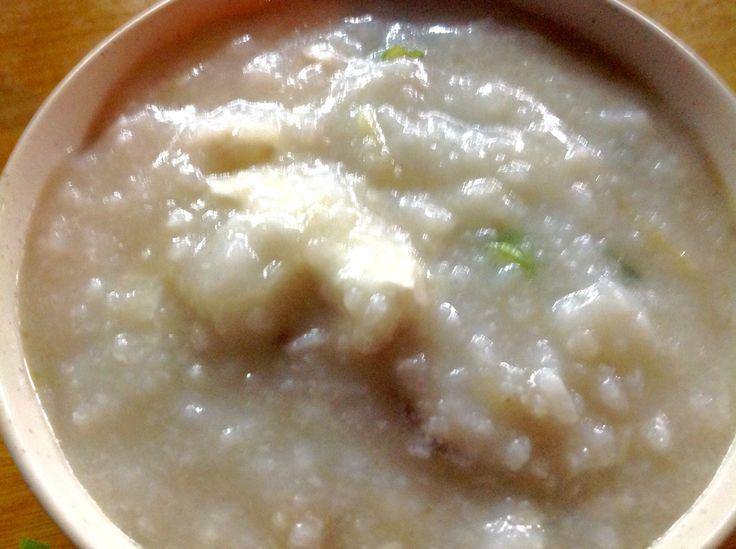 3am supper of porridge and Hokkien Mee @ Ipoh Road