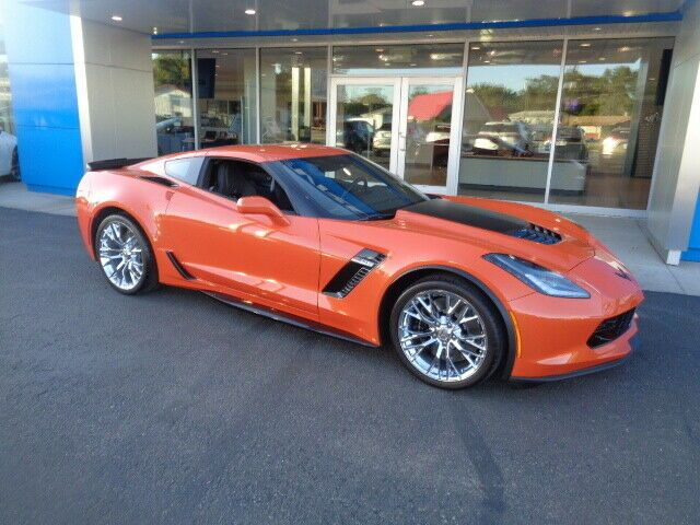 2019 Chevrolet Corvette Z06 2lz 20 19 New Orange Corvette Z06