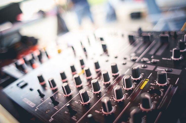 Free Image: DJ Mixer Gains Close-Up   Download more on picjumbo.com!