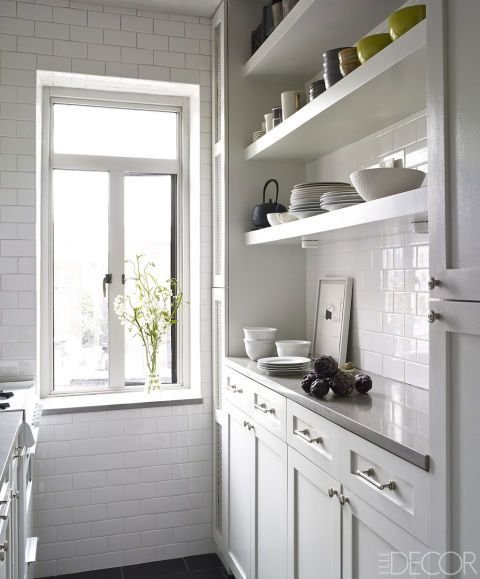 17 Best Ideas About White Galley Kitchens On Pinterest