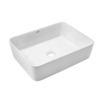 153 zł _ Invena Nyks umywalka 47,5 cm nablatowa biała CE-11-001