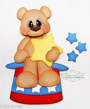 craftecafe premade шитье по бумаге набор для скрапбукинга 4-го отечественной медведь bljgraves 10