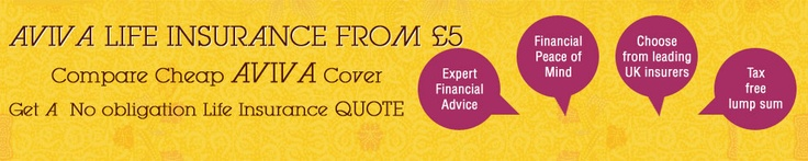 Aviva Life Insurance; Get life insurance quotes from Aviva that is a leading life insurance company in UK.