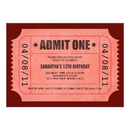 The  Best Admit One Ticket Ideas On   Concerts