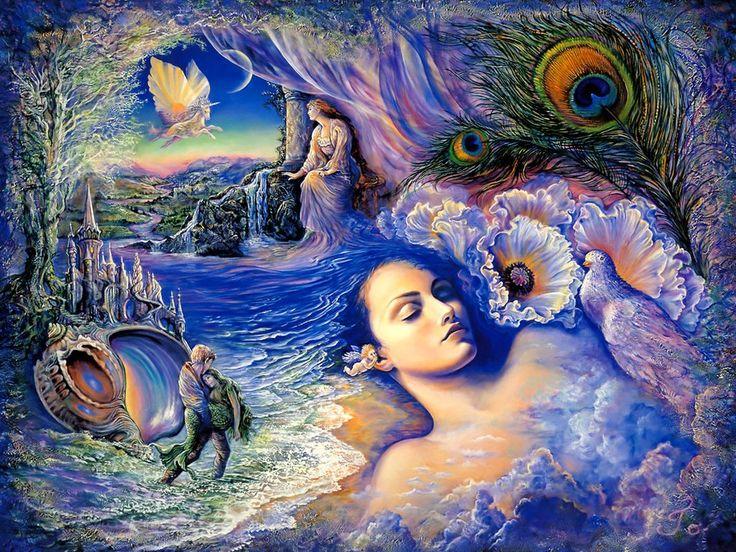 random Google searchPainting Art, Fantasy Art, Dreams Art, Wall Painting, The Little Mermaid, Josephine Wall, Oil Painting, Art Pictures, Art Painting