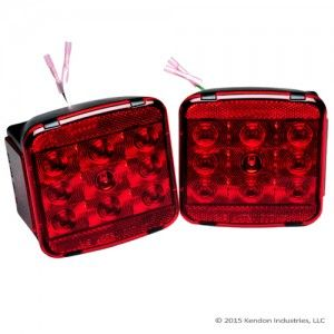 LED Tail Light Kit for Kendon Motorcycle Trailers *$79.95* (Part #: LEDTLK) This High Performance LED Tail Light Kit offers superior styling, brighter illumination, and more reliability. These new LED Tail Light Kits are available for all Kendon Trailer models.