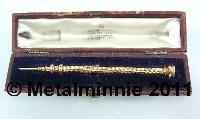 CASED SAMPSON MORDAN GOLD PROPELLING PENCIL C1850