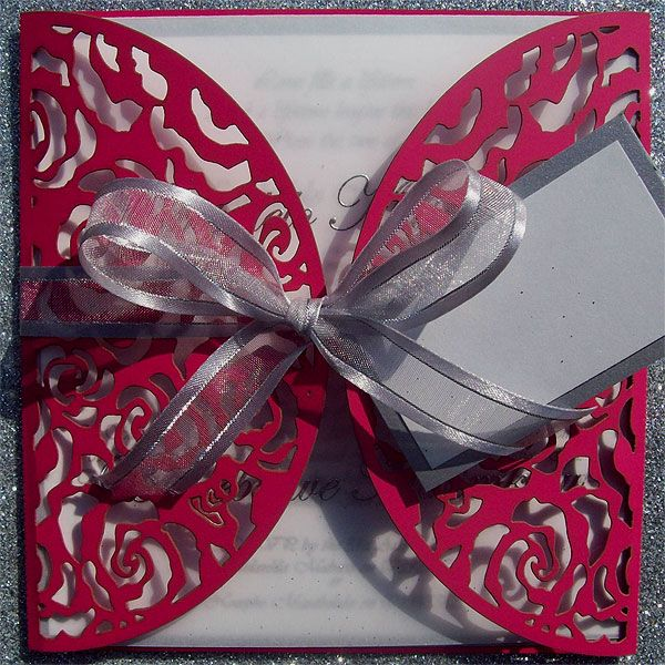 Ref Kgalema Cherise ( we can do any colour) www.weddingcards.co.za