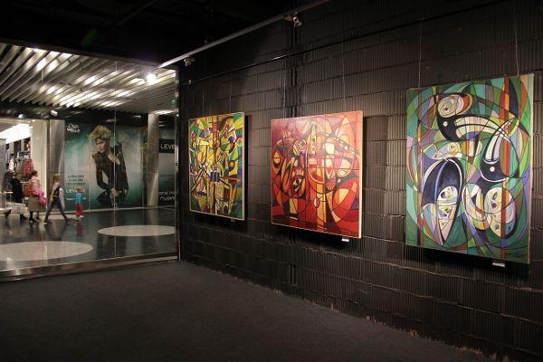 Millenium Hall Rzeszów - Europejska Galeria Sztuki - wystawa malarstwa Eugeniusza Gerlacha MUZYCZNE INSPIRACJE