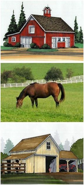 AppleValleyBarns.com - Find plans for traditional wooden horse barns in all styles and from one to eight stalls. You'll find pole-frame horse barns, simple stables, run-ins, loafing sheds, hay barns, tractor barns and equipment shelters by some of America's best known country designers.
