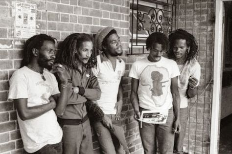 Burning Spear; the late Augustus Pablo; Tyrone Downie, Julian Junior Marvin and Skyhigh Mau.