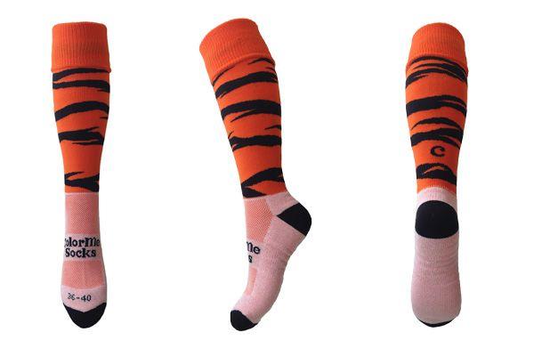 Tiger Orange by ColorMeSocks™