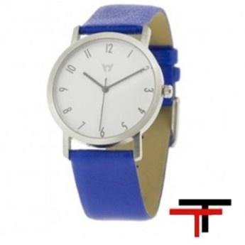 Reloj Watchcelona Basic blanco azul  http://www.tutunca.es/reloj-watchcelona-basic-blanco-azul