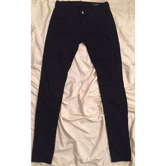 William Rast skinny jeans size28 William Rast black skinny jeans in size 28 worn once have no signs of wear the black color is very dark, so no fading at all, extremely soft feeling. William Rast Jeans Skinny