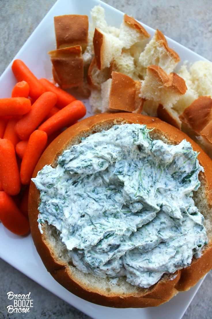 Homemade Spinach Dip Is A Must Make Around The Holidays Guests Love It So