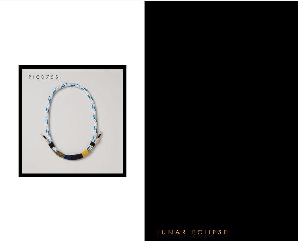 Lunar Eclipse Necklace. Buy Online: www.pichulik.com/shop