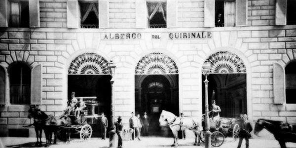 08 Gennaio… #Roma, 1874, viene inaugurato l'#Albergo #Quirinale