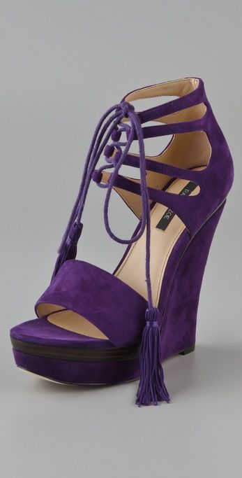 Rachel Zoe Wedges Sandals - gorgeous! Even though I'm perfectly aware of the fact that I would break my ankle intersection!