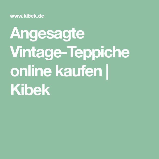 Angesagte Vintage-Teppiche online kaufen   Kibek