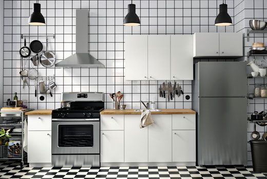 Image Result For Haggeby Ikea Kitchen Cabinets Ikea Kitchen In