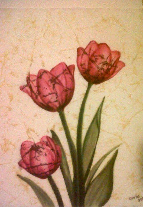 Cashmere Silk Scarf - Blooming Triads by VIDA VIDA lhPR9L44
