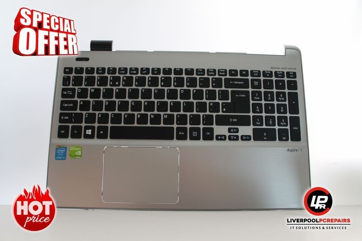 "Item: Acer Aspire V3-572PG Laptop Palmrest with UK Keyboard PK130N41A08 ""B422   Postage: Free UK Shipping – Royal Mail 1st Class Item Price: £49.99   Warranty: 30 Day Money BackGuarantee Buy on eBay: ebay.liverpoolpcrepairs.com   Protection: eBay Money Back Guarantee Item Ends..."