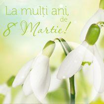Un gand gingas si senin! La multi ani, de 8 Martie! http://ofelicitare.ro/felicitari-de-8-martie/la-multi-ani-de-8-martie-730.html